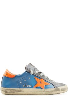 Super Star Suede and Leather Sneakers detail 1