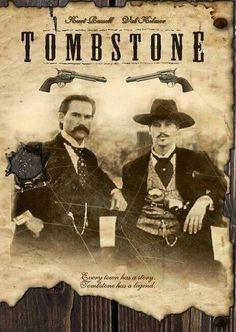 Kurt Russell, TOMBSTONE, Movie Poster