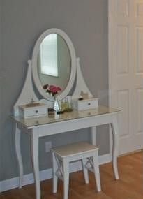 Ikea Hemnes Dressing Table Fairy Lights Around Mirror The Beauty - White dressing table ikea