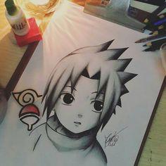 Sasuke uchiha 💛b Kakashi Drawing, Naruto Sketch Drawing, Anime Drawings Sketches, Anime Sketch, Cute Drawings, Wallpaper Naruto Shippuden, Naruto Wallpaper, Naruto Shippuden Anime, Sasuke Uchiha