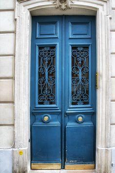 Paris Blue Photograph