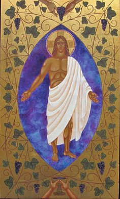 Christ the True Vine, by Jodi Simmons Jesus Christ Vine, True Vine, Religion, Images Of Christ, Christ The King, Jesus Face, Biblical Art, The Good Shepherd, Sacred Art