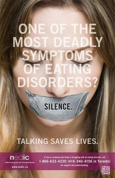 A lot of eating disorders go unnoticed.