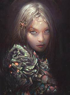 Vuong Le #bleaq #fantasy #digital #illustration