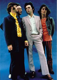 Richard Starkey, John Lennon, Paul McCartney, and George Harrison