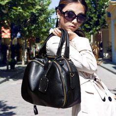 Hot Sale Korean Style Vintage Multifunctional Women PU Messenger Bags