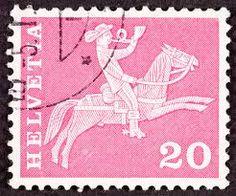 Switzerland postage stamp