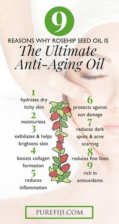9 Reasons why rosehip seed oil is the ultimate anti-aging oil. Learn the benefits of ho Essential Oils For Skin, Essential Oil Uses, Healing Oils, Aromatherapy Oils, Gel Aloe, Natural Skin Care, Natural Beauty, Apple Cider, Seed Oil