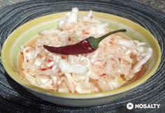 Csípős káposztasaláta kínai módra Gluten Free Recipes, Free Food, Feta, Grains, Rice, Meals, Meal, Gluten Free Menu, Seeds