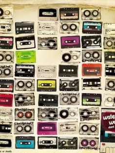 Cassette Tapes Pattern