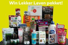 Win een heerlijk  #LekkerLeven pakket, we mogen er maar liefst drie weggeven.  Lekker Leven met allergie. Doe ook mee!