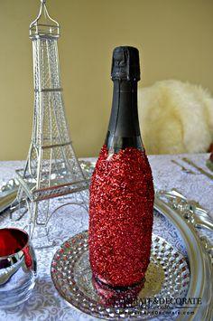 A Paris Themed Valentine's Dinner - Celebrate & Decorate