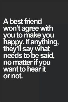 a best friend is honest:0