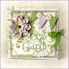 Secret Garden Mini Book