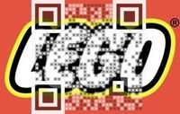 Connect up to Lego by scanning their Visual QR Code. Great design! Create your Visual QR Code at www.visualead.com