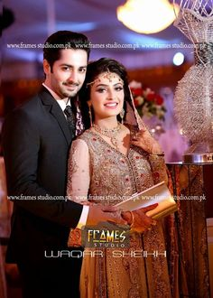 Check Out Walima Pictures Of Ayeza Khan and Danish Taimoor. Ayeza Khan and Danish Taimoor's Wedding Pictures Aiza Khan Wedding, Beautiful Couple, Beautiful Bride, Couple Photography, Photography Poses, Wedding Photography, Ayeza Khan, Walima, Pakistani Wedding Dresses