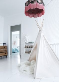 teepee---reading nook maybe?