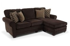 "Maggie II 90"" Innerspring Queen Sleeper Chaise Sofa 