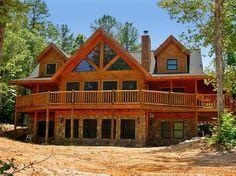 Bickley Lodge Front Elevation -- Natural Element Homes