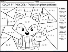 free printable math multiplication coloring worksheets sketch coloring page - Coloring Page 2nd Grade