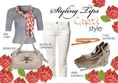 #Fornarina Styling Tips - Capri style