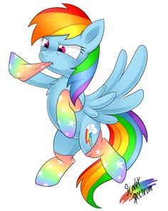 rainbow dash w stockings Mlp My Little Pony, My Little Pony Friendship, My Little Pony Wallpaper, Imagenes My Little Pony, Little Poni, Mlp Characters, Pony Drawing, My Little Pony Pictures, Unicorns And Mermaids