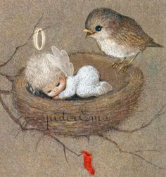 """""""Little Christmas Thoughts"""" . Vintage Christmas Cards, Christmas Images, Christmas Angels, Christmas Art, Christmas Decorations, Xmas, Christmas Thoughts, Angel Pictures, Christmas Paintings"""