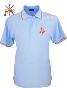 Polo Legión Española, varios colores http://www.pi2010.com/Bandera-España-Hombre/Polo-casa-real-hombre/Polo-legion-españa-celeste #poloLegionEspañola #poloespañol #poloEspaña  Si te gusta, comparte