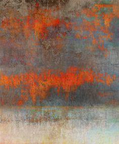 """Dave Tilton, After Sunset , 2012, Pigment Ink on Cotton rag Paper, 1/12  image: 19 1/2"""" x 16""""; walnut frame: 30"""" x 26 1/2"""""""