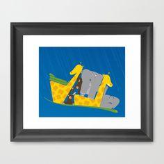 Noahs Ark Framed Art Print