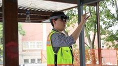 Builders are experimenting with Microsoft's HoloLens to visualize projects and…