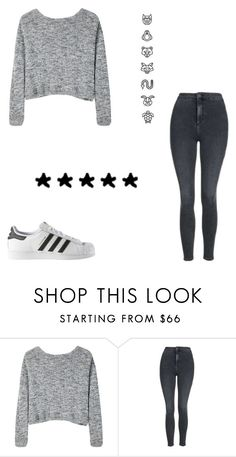 """Untitled #573"" by kimberly58227 ❤ liked on Polyvore featuring Bodkin, Topshop and adidas"