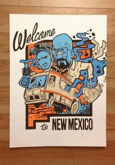 Welcome to New Mexico, U.S.A.