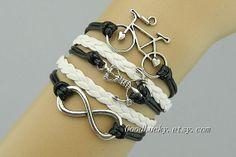 BraceletHipster Jewelry charm leather by charmjewelrybracelet, $10.99