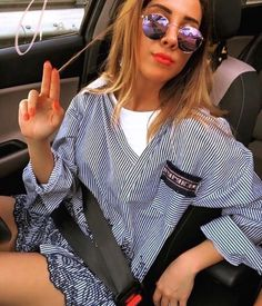 Be different with this beautiful shirt with 👄🏵 flower detailing! For all women and girls who 💙 love originality. Italian Fashion, Vip, Sunglasses Women, Ruffle Blouse, Shirts, Embroidery, Shopping, Clothes, Beautiful