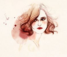 keira by thecatspaw - Illustrations by Sarah Bochaton  <3 <3