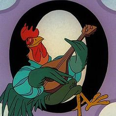 Robin Hood Rooster. The whistling aunt Pam? :)