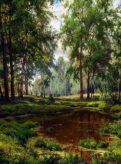 Живопись Сергея Басова (97) » Фишки.Лв - развлекательный блог