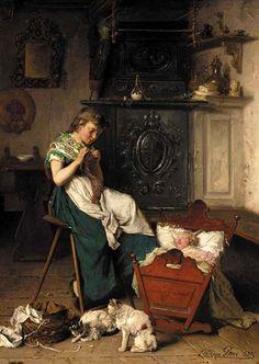 The Attentive Nanny Theodore Gerard