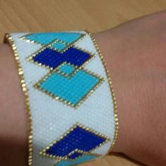 Peyote Beading, Bead Loom Patterns, Loom Bracelets, Creations, Diy, Jewelry, Design, Diy Kid Jewelry, Bangles