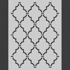 Wall Stencil Diy Templates Etsy 23 Ideas For 2019 Stencil Decor, Wall Stencil Patterns, Stencil Templates, Stencil Painting, Stencil Designs, Stencil Walls, Wall Stenciling, Moroccan Wall Stencils, Bird Stencil