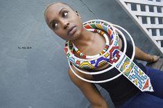 Herringbone Stitch, I Pay, Zulu, African, Dutch, Beaded Jewelry, Model, Pattern, Color