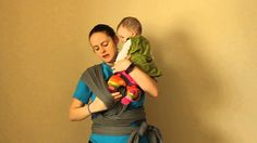 Different ways to tie your #babycarrier for easy and comfortable #babywearing . Check out this #YouTube tutorial on how to correctly tie your baby sling. #funkiflamingo #Motherhood #parenting #babyshower #babyshowergift #babygift