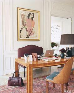 L'Wren Scott's Paris Apartment | Keep it Chic