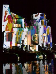 "Alys Beach Digital Graffiti 2011 Best of Show Winner, ""Love Will Guide You"" by Niky Roehreke"