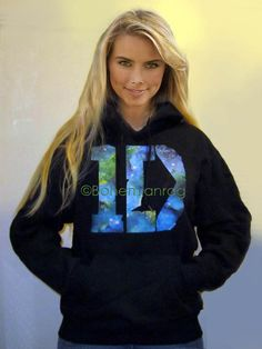 GALAXY 1D One Direction HOODIE Out of This World Galaxy Design 1D Hoodie SALE