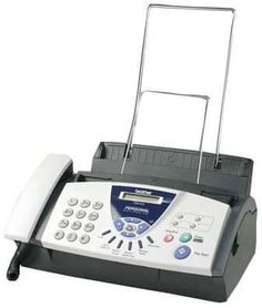 Brother Personal Fax, Phone, and Copier. The most popular Fax machine, its dependable and gets the job done for any small or large office. Brother Printers, Layout, Printer Scanner, Office Phone, Landline Phone, Cool Things To Buy, Electronics, Ebay, Paper