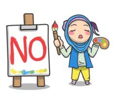 Flower Hijab by Imran Ramadhan sticker