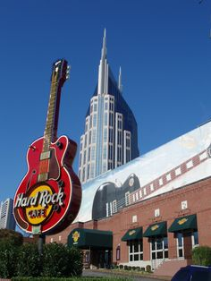 Nashville! The Hard Rock Café!! I have been to The Boston Hard Rock, and would love to attend one in Nashville  #OneOfAKIndNashville