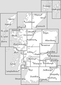 Undiscovered Scotland. Clickable map of Scotland.